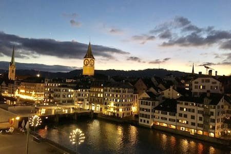 New studio with absolutely dream views ! - Zürich