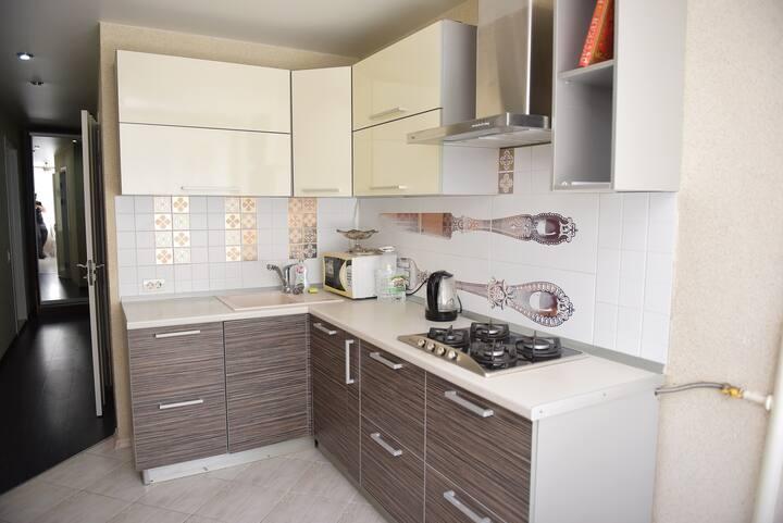 Двухкомнатная квартира RentHouse на улице Кулакова