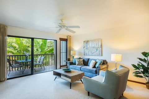 Immaculate 1Bed/1Bath Villa, in Heart of Poipu!