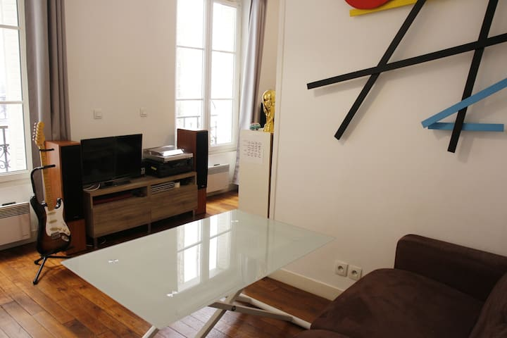 Cozy Studio near Nation / Porte de Vincennes