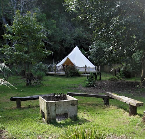 Glamping fun on the Whanganui River!