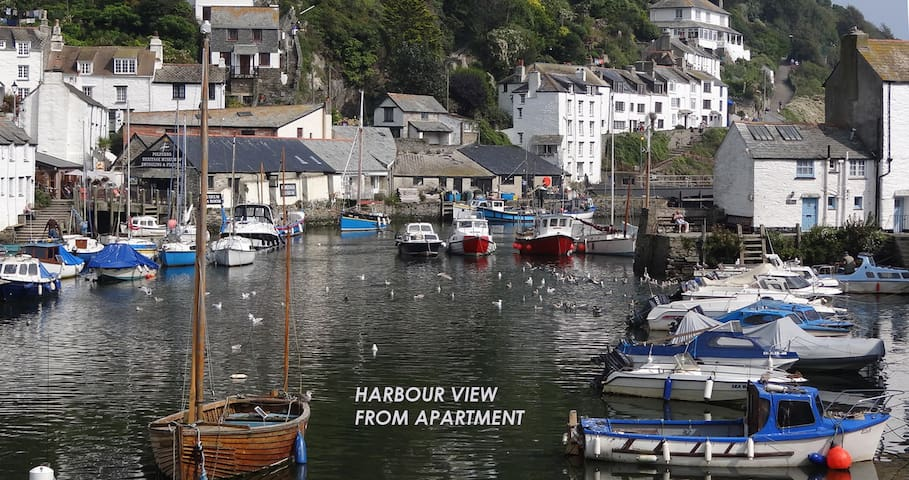Harbour Bridge - Polperro harbour view