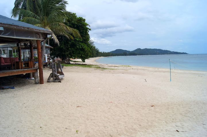 Coco beach bar, 50m from the house.