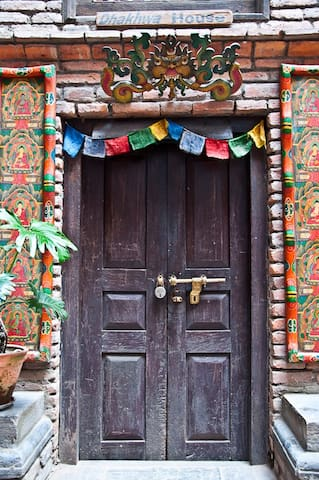 Dhakwha House entrance Door