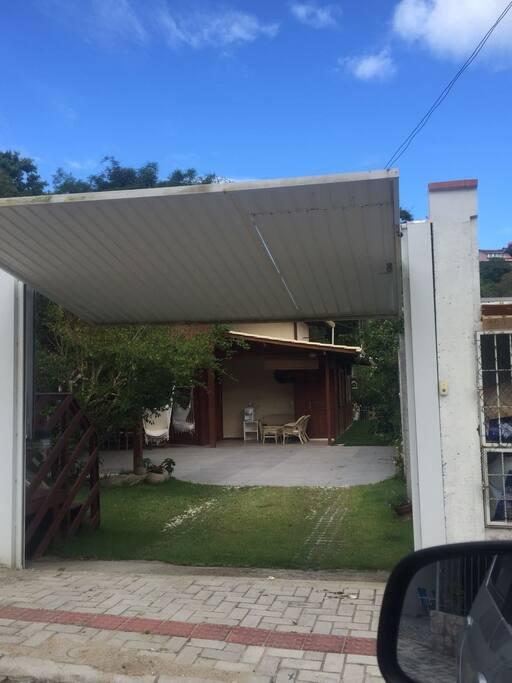 portão entrada casa