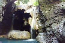 These Falls are a short distance from the house.  A visit can be included in one of our Ganja farm tours!  Ask us to arrange your trip, we will be happy to help!