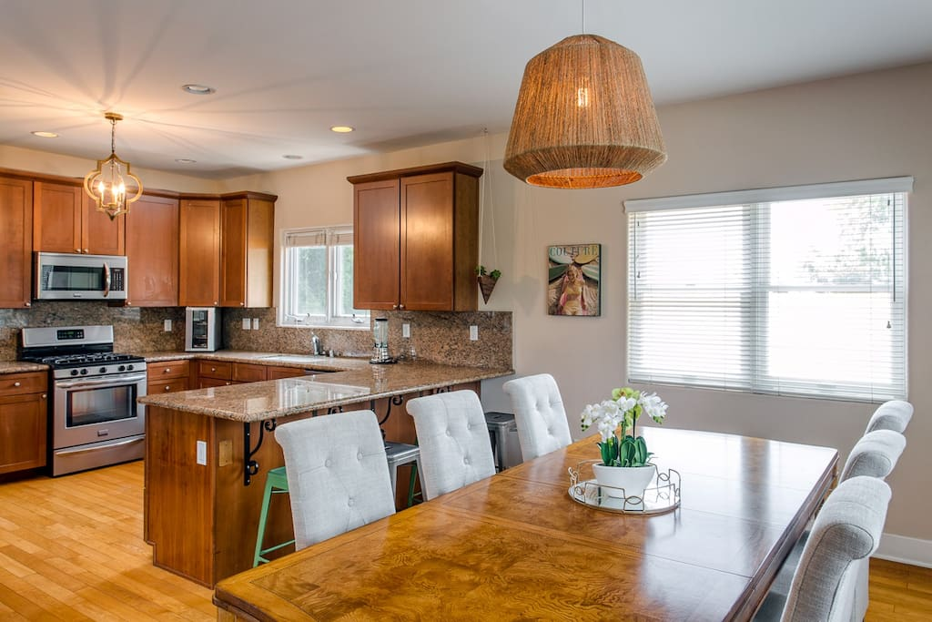 Large Kitchen perfect for Get Togethers