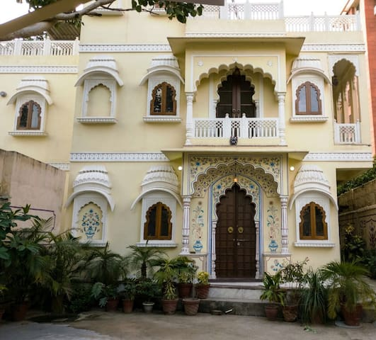 (2)The haveli , a home stay in c scheme