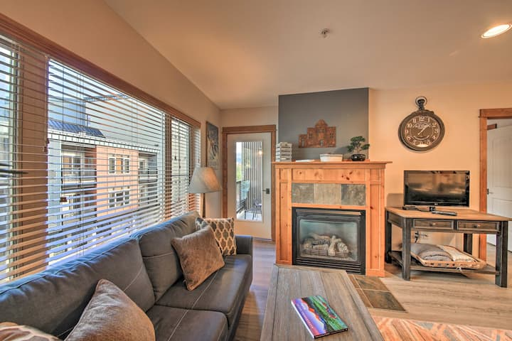 NEW! Silver Mtn Resort Condo - Steps to Gondola!
