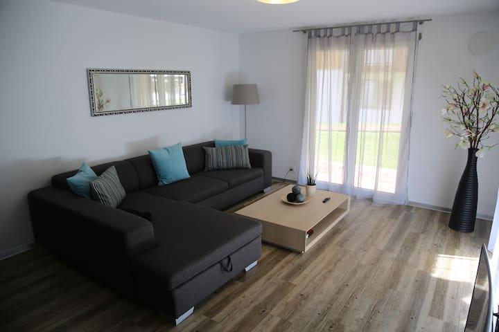 """Moderne 3,5-Zimmer-Wohnung """"Polly"""" - Grächen - Wohnung"""
