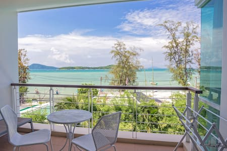♛Oceanfront Premier Two-Bedroom Suite ~Rawai Beach