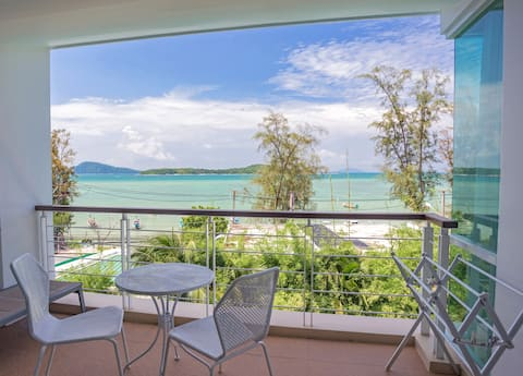 ♛Oceanfront Premier Two-Bedroom Suite ~Rawai Beach