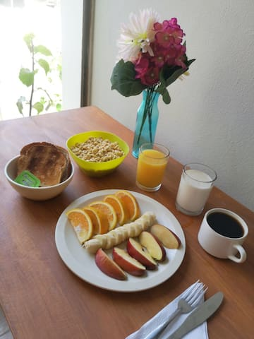 Desayuno / Breakfast