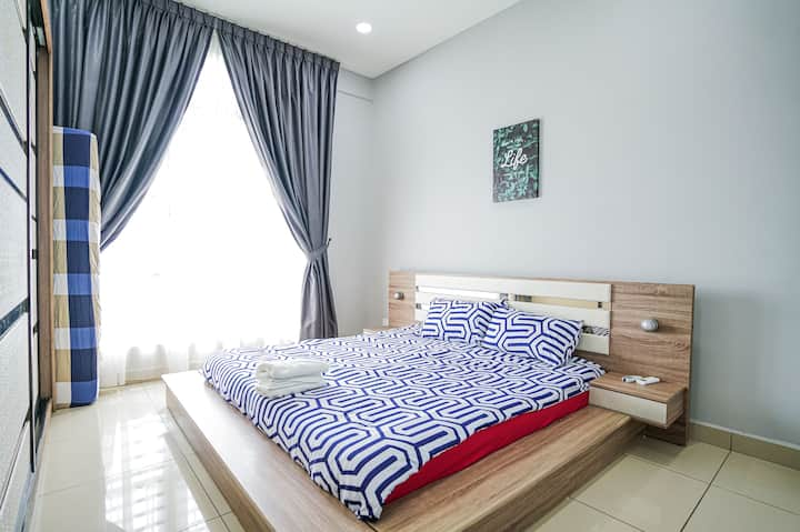 Modern Stylish Home7Pax@ BANDAR PERDA BM CITY MALL