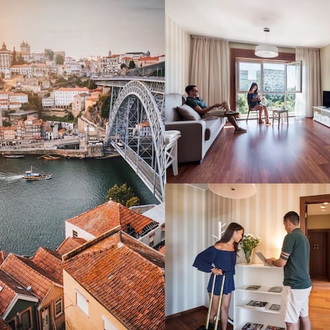 PORTO ESCAPE |FREE PARKING | INDOOR POOL| SHOPPING