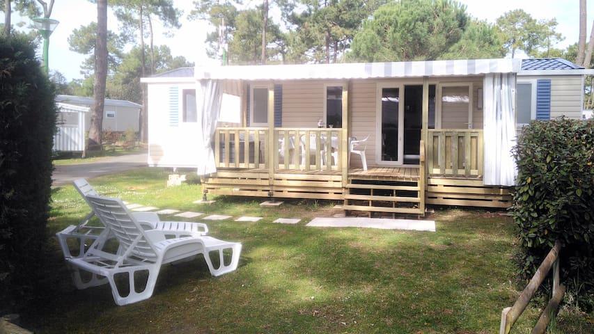 Mobil Home 6 pers Camping 4* Bonne Anse La Palmyre
