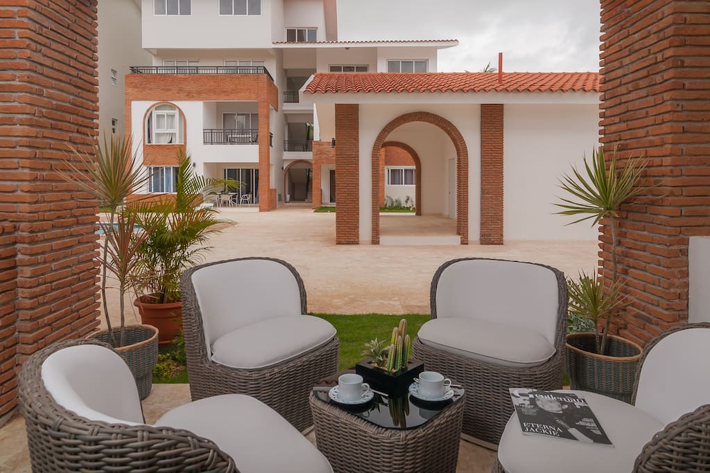 Your private terrasse