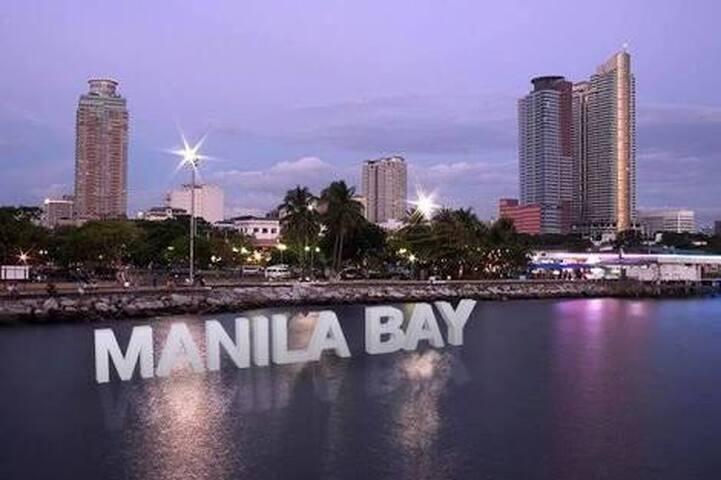 Manila Bay along Roxas Boulevard