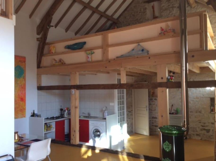 Kitchen ( open )