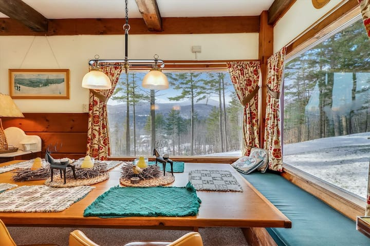 Four season Stowe Camp, the perfect year-round escape!