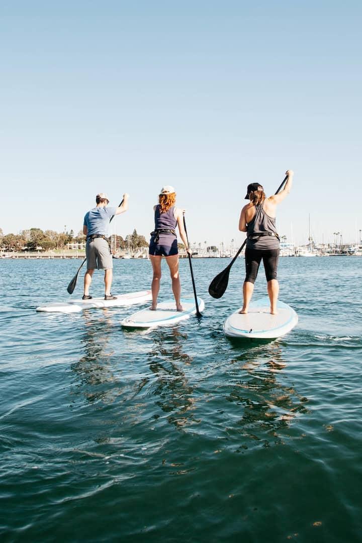 Paddle in Marina Del Rey