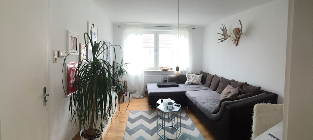 Very central flat, swedish nature! - Kassel - Wohnung