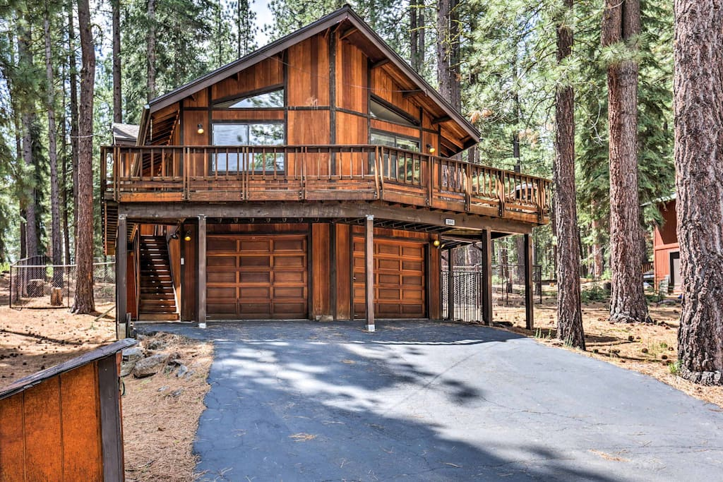 This beautiful Truckee house is the ultimate home base for Tahoe adventures!