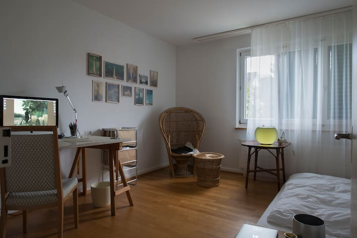 3.5 room Luzern apartment with garden+balcony