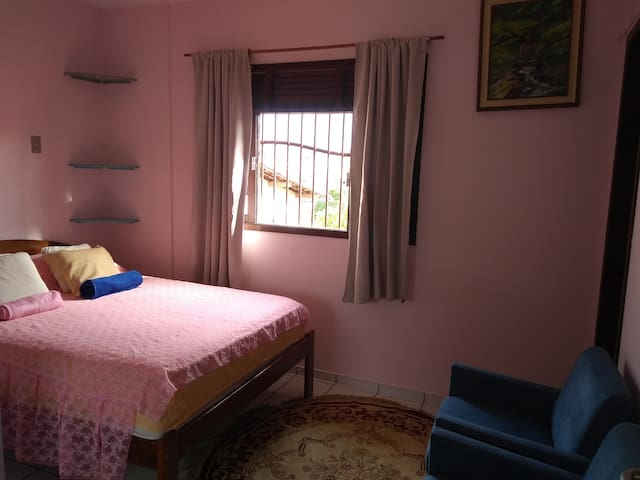 Casa Rosa Pet Friendly Cama casal