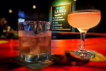 Walk next door for delicious specialty cocktails at La Roca!