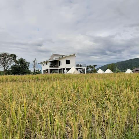 บ้านนาตาส่อง Song's Farm&Rest