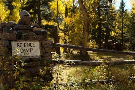 Secret Science Camp on the Alamosa River