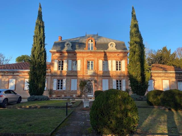 Demeure de charme aux portes de Toulouse