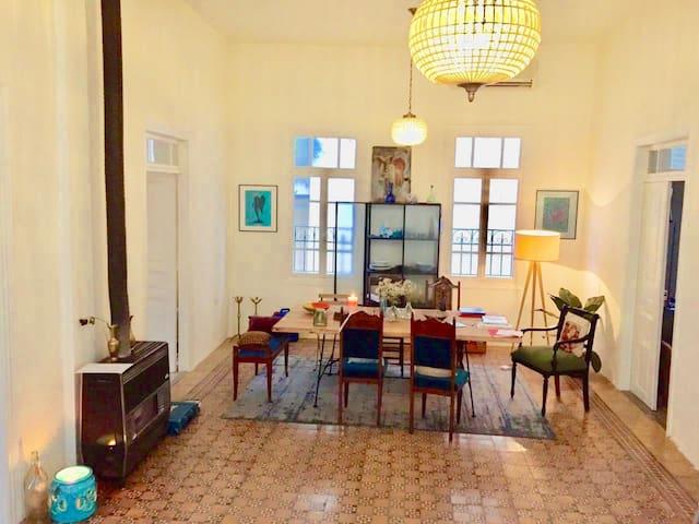 Unique Lebanese Apartment in Beirut's Hotspot