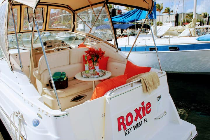 Roxie!  A compact yacht in Paradise.