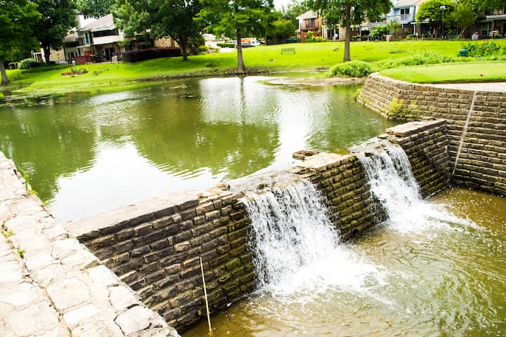 Over a Dozen Waterfalls in the Community.
