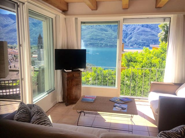 Duplex House with view! Including garage - Ascona - House