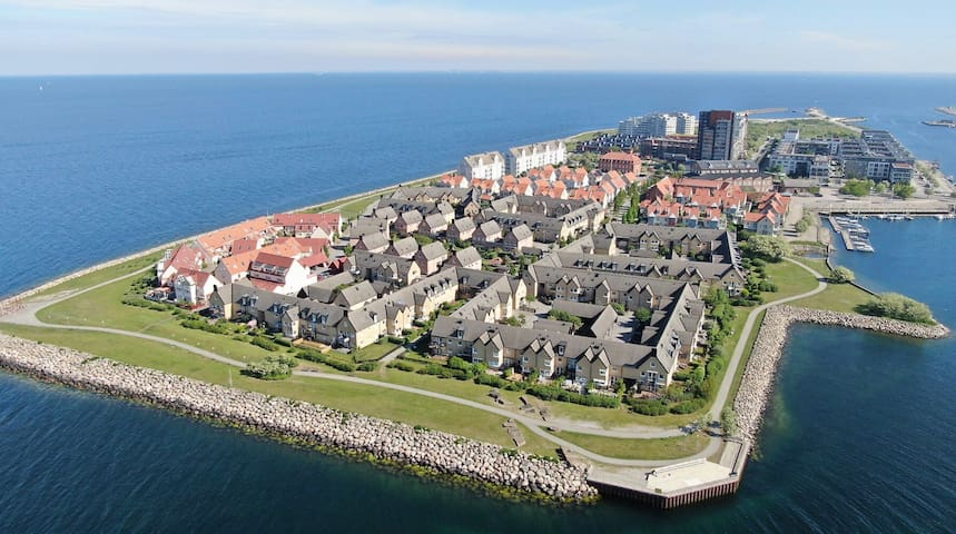 Lovely place on the island in Malmö