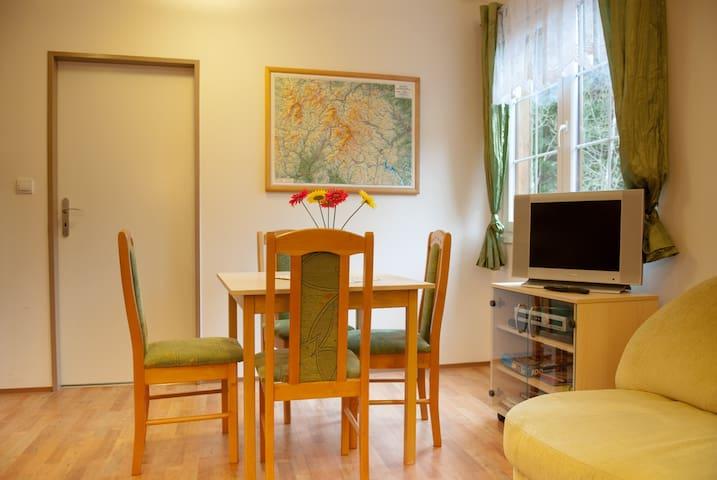 Krásný apartmán uprostřed Jeseníků
