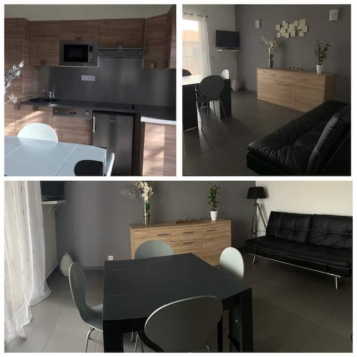 Appartement tout confort de 35m2 à Lecci