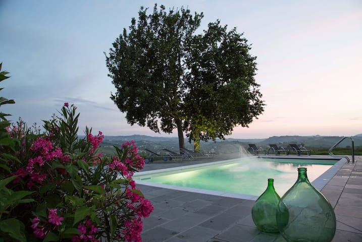 3 Leiligheter på vingård. Totalt 10 senger - Castelnuovo Calcea - Apartament