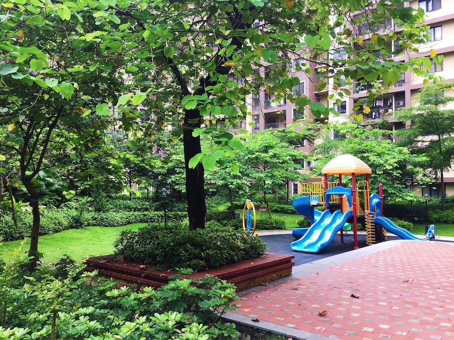 苑内独立儿童游乐区