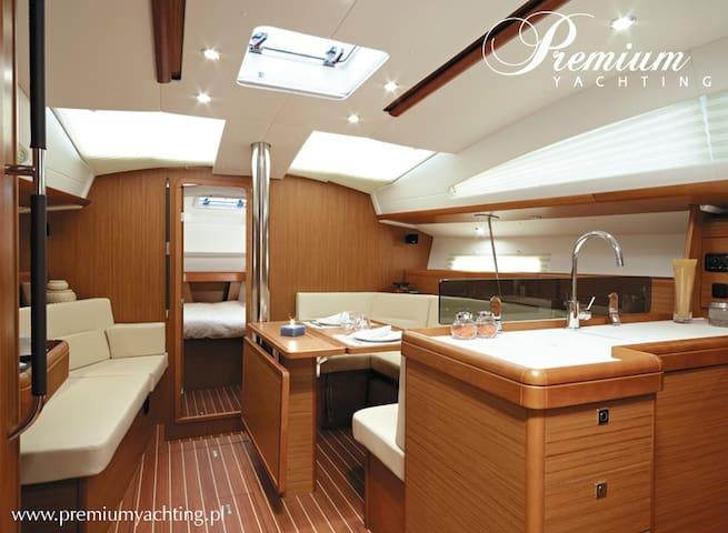 Comfortable boat in the heart of Gdansk - Gdańsk - Boat