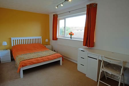 A pleasant room in a village house in Wing, Bucks