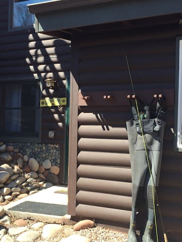 Beautiful cabin setting...Hike, bike, fish outside your door.  Access to miles of river path