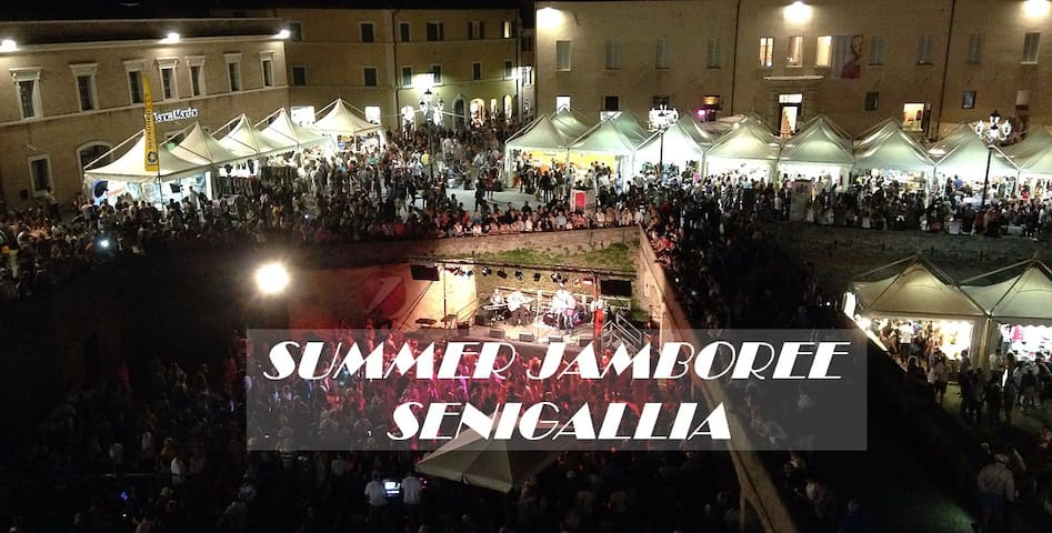 Large Local Independent a few steps from the SEA ! - Senigallia - Overig