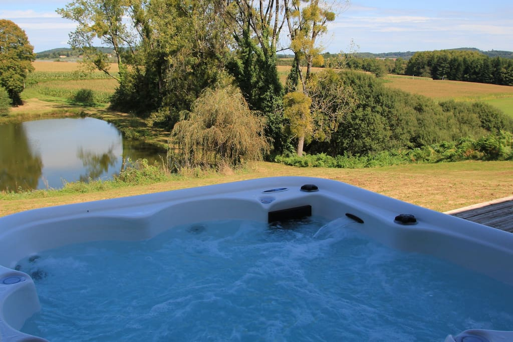 The Amazing view from the Hot Tub