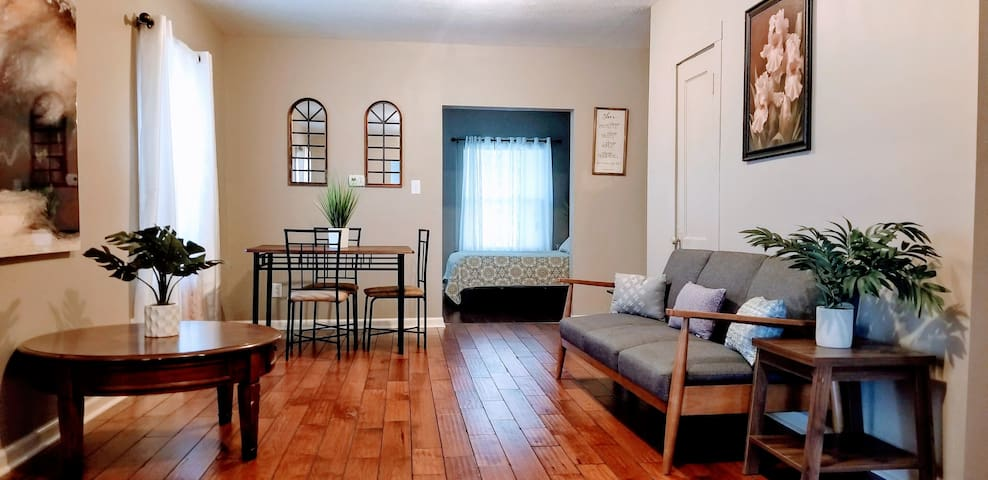 The Cool and Spacious Metro Apt. w/free park & WiFi in Indianapolis