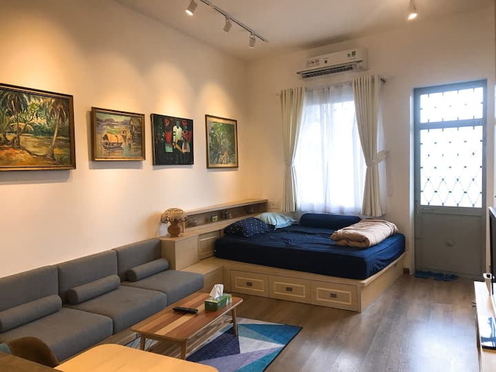 313 House - Cozy&Charming Studio 1m to Bui Vien