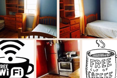 Cozy Private Room 1-2people by JFK - Cambria heights  - Maison